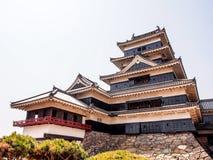 Κάστρο του Ματσουμότο, η περιοχή παγκόσμιων κληρονομιών στο Ματσουμότο, Ιαπωνία 2 Στοκ Εικόνες
