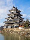 Κάστρο του Ματσουμότο το καλοκαίρι, πόλη του Ματσουμότο, Ναγκάνο, Ιαπωνία Στοκ φωτογραφίες με δικαίωμα ελεύθερης χρήσης