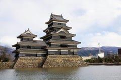 Κάστρο του Ματσουμότο στοκ φωτογραφία με δικαίωμα ελεύθερης χρήσης