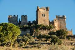 Κάστρο του Ρίο Almodovar del, Ισπανία Στοκ φωτογραφίες με δικαίωμα ελεύθερης χρήσης