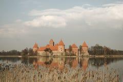 Κάστρο του Τρακάι στοκ φωτογραφία με δικαίωμα ελεύθερης χρήσης