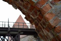 Κάστρο του Τρακάι στοκ εικόνα με δικαίωμα ελεύθερης χρήσης