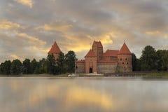 Κάστρο του Τρακάι Στοκ Εικόνες