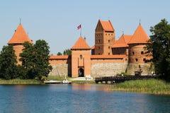 Κάστρο του Τρακάι Στοκ εικόνες με δικαίωμα ελεύθερης χρήσης