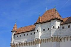 Κάστρο του Annecy, Γαλλία Στοκ φωτογραφία με δικαίωμα ελεύθερης χρήσης