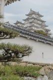 Κάστρο του Himeji το χειμώνα Στοκ Εικόνα