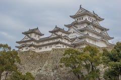 Κάστρο του Himeji το χειμώνα Στοκ φωτογραφίες με δικαίωμα ελεύθερης χρήσης
