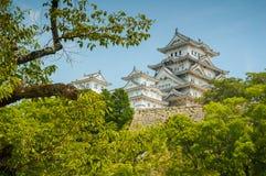 Κάστρο του Himeji Στοκ εικόνες με δικαίωμα ελεύθερης χρήσης