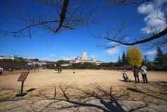 Κάστρο του Himeji Στοκ Φωτογραφίες