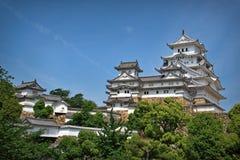 Κάστρο του Himeji Στοκ Εικόνα