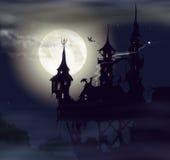 Κάστρο φαντασμάτων Στοκ Εικόνες