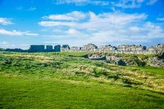 Κάστρο φλούδας εσωτερικών καθεδρικών ναών Αγίου Πάτρικ στην πόλη φλούδας στο Isle of Man Στοκ εικόνα με δικαίωμα ελεύθερης χρήσης