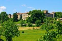 Κάστρο Agazzano στοκ φωτογραφίες
