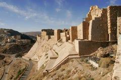 κάστρο Al karak Στοκ εικόνα με δικαίωμα ελεύθερης χρήσης