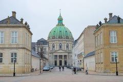 Κάστρο Amalienborg Στοκ φωτογραφίες με δικαίωμα ελεύθερης χρήσης