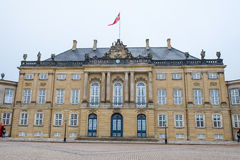 Κάστρο Amalienborg Στοκ εικόνα με δικαίωμα ελεύθερης χρήσης