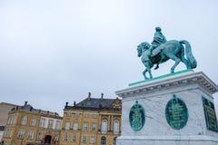 Κάστρο Amalienborg Στοκ φωτογραφία με δικαίωμα ελεύθερης χρήσης