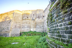 Κάστρο Aragonese στο Οτράντο, Apulia, Ιταλία Στοκ Φωτογραφίες
