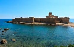 Κάστρο Aragonese LE Castella, Καλαβρία, Ιταλία Στοκ εικόνες με δικαίωμα ελεύθερης χρήσης