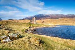 Κάστρο Ardvreck στη Σκωτία Στοκ Εικόνες