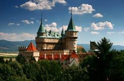 κάστρο bojnice Στοκ φωτογραφία με δικαίωμα ελεύθερης χρήσης