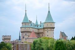 Κάστρο Bojnice Στοκ Φωτογραφίες