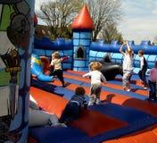 κάστρο bouncy στοκ εικόνα
