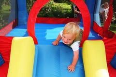 κάστρο bouncy Στοκ φωτογραφία με δικαίωμα ελεύθερης χρήσης