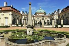 κάστρο buchlovice Στοκ εικόνα με δικαίωμα ελεύθερης χρήσης