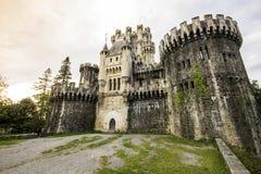 Κάστρο Butron, Ισπανία Στοκ φωτογραφία με δικαίωμα ελεύθερης χρήσης