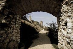 κάστρο cachtice Στοκ Φωτογραφίες