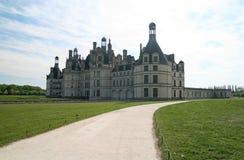 κάστρο chambord Γαλλία Στοκ φωτογραφία με δικαίωμα ελεύθερης χρήσης