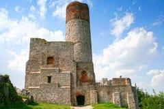 Κάστρο Checiny Στοκ φωτογραφίες με δικαίωμα ελεύθερης χρήσης
