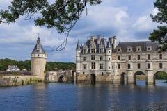 Κάστρο Chenonceau στην κοιλάδα της Loire - Γαλλία Στοκ Εικόνες