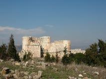 κάστρο chevaliers crusader des krak στοκ φωτογραφία
