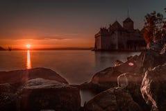 κάστρο chillon Στοκ Φωτογραφία