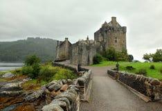 Κάστρο Donan Castle Eilean διασημότερο στη Σκωτία Στοκ Εικόνα