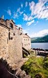 κάστρο donan eilean Σκωτία Στοκ εικόνα με δικαίωμα ελεύθερης χρήσης
