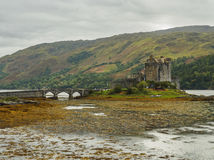 κάστρο donan eilean Σκωτία Στοκ Φωτογραφίες