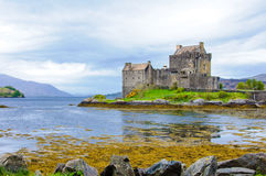 Κάστρο Donan Eilean στη Σκωτία, UK Στοκ φωτογραφία με δικαίωμα ελεύθερης χρήσης