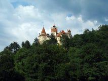 Κάστρο Dracula, Ρουμανία Στοκ Φωτογραφίες