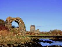 κάστρο dunguaire Ιρλανδία Στοκ Εικόνες