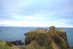 κάστρο dunnottar Στοκ εικόνα με δικαίωμα ελεύθερης χρήσης