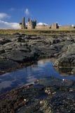 κάστρο dunstanburgh στοκ φωτογραφίες με δικαίωμα ελεύθερης χρήσης