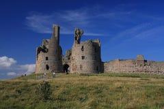 κάστρο dunstanburgh στοκ εικόνα