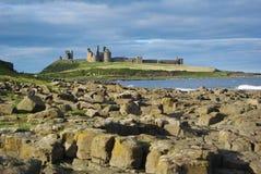 κάστρο dunstanburgh στοκ φωτογραφία με δικαίωμα ελεύθερης χρήσης