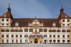 κάστρο eggenberg Γκραζ της Αυστρίας Στοκ φωτογραφία με δικαίωμα ελεύθερης χρήσης