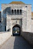 κάστρο gatehouse Λιντς Στοκ Φωτογραφία
