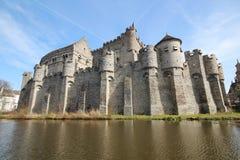 Κάστρο Gent Στοκ Εικόνες