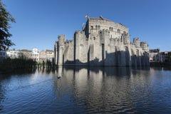 Κάστρο Gent Στοκ φωτογραφίες με δικαίωμα ελεύθερης χρήσης